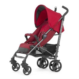 Chicco Lite Way Stroller 2 Top BB Bebek Arabası /Red