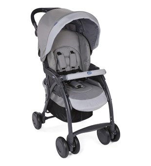 Chicco Simplicity Plus To Travel Sistem Bebek Arabası Grey